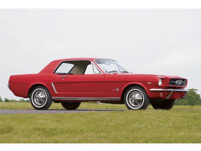 64 Mustang Car Exterior
