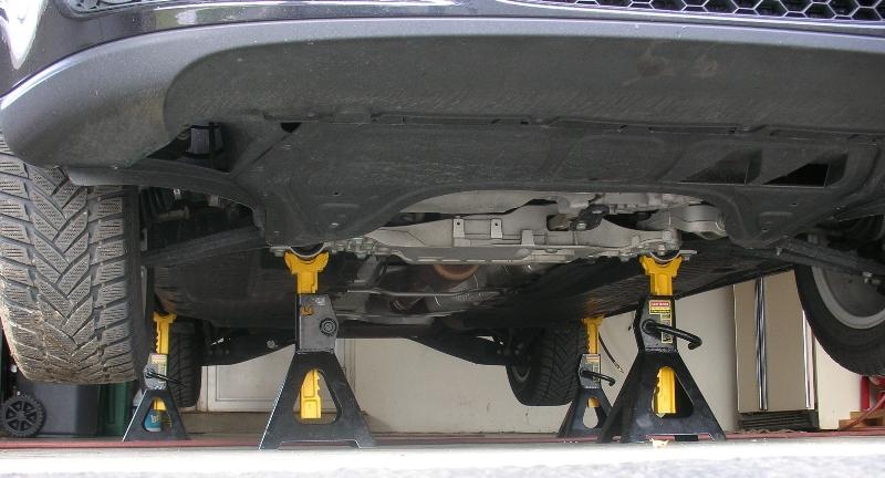 Image result for car on jack stands
